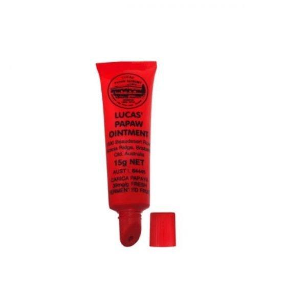 Lucas' Papaw Ointment Lip Applicator Tube 15g