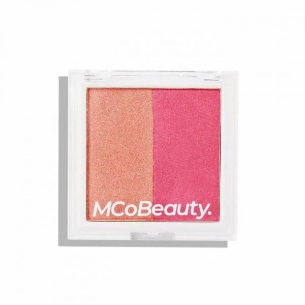 MCoBeauty Highlight & Blush Duo - Berry Glow