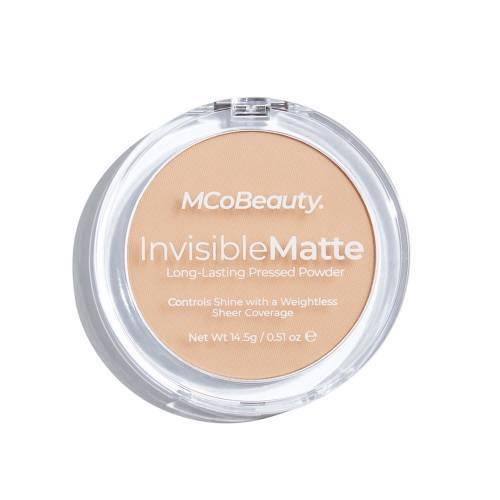 MCoBeauty Invisible Matte Pressed Powder: Translucent