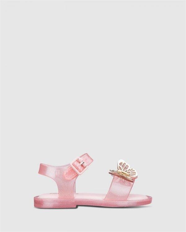 Mar Sandal Fly Bb Pink Glitter