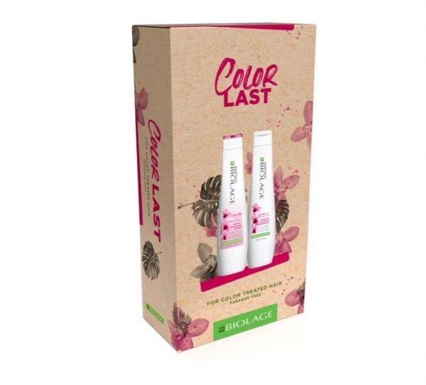 Matrix Biolage Christmas Colorlast Duo Shampoo and Conditioner 400ml