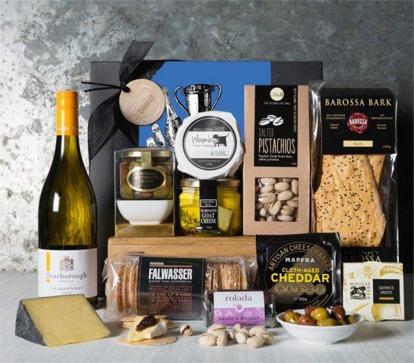 Melbourne Cup Luxury Cheese & Chardonnay Hamper