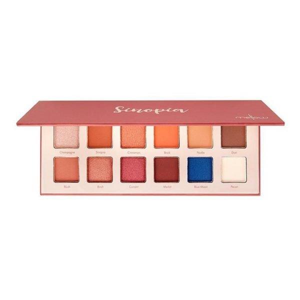 Mellow Cosmetics Sinopia Eye Shadow Palette 18g