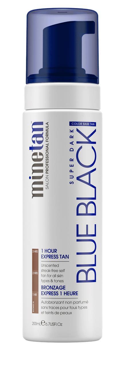 Minetan Blue Black Self Tan Foam 200ml