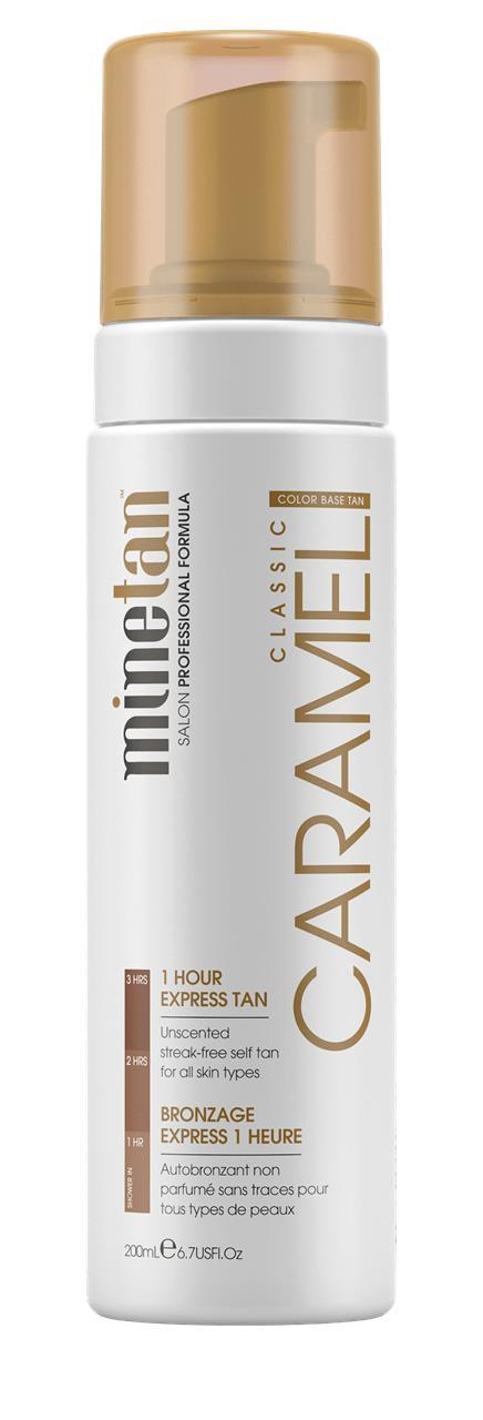 Minetan Caramel Self Tan Foam 200ml