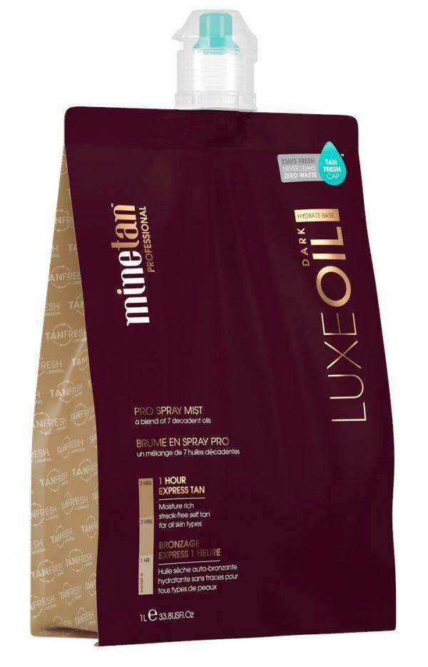 Minetan Luxe Dark Tanning Pro Tan Mist 1L