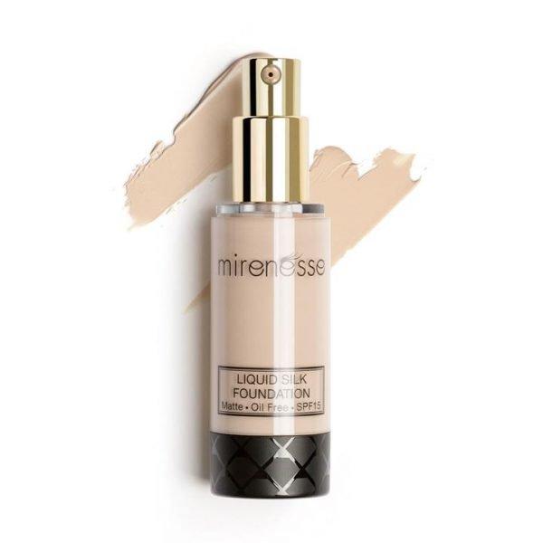 Mirenesse Liquid Silk Oil Free Matte Long Wear Foundation 13. Vanilla 35g