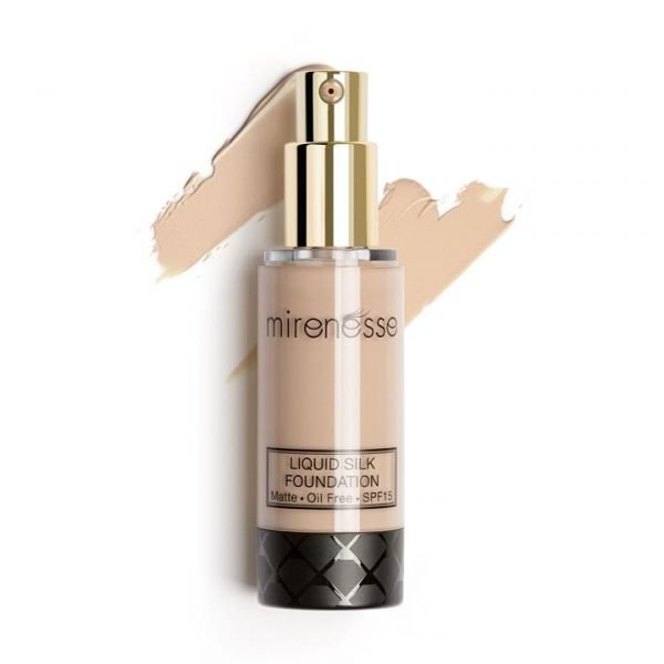 Mirenesse Liquid Silk Oil Free Matte Long Wear Foundation 21. Vienna 35g