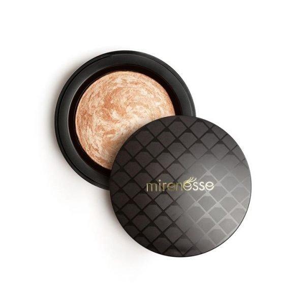 Mirenesse Marble Mineral Baked Powder Blush 3. Makarena Mink 12g