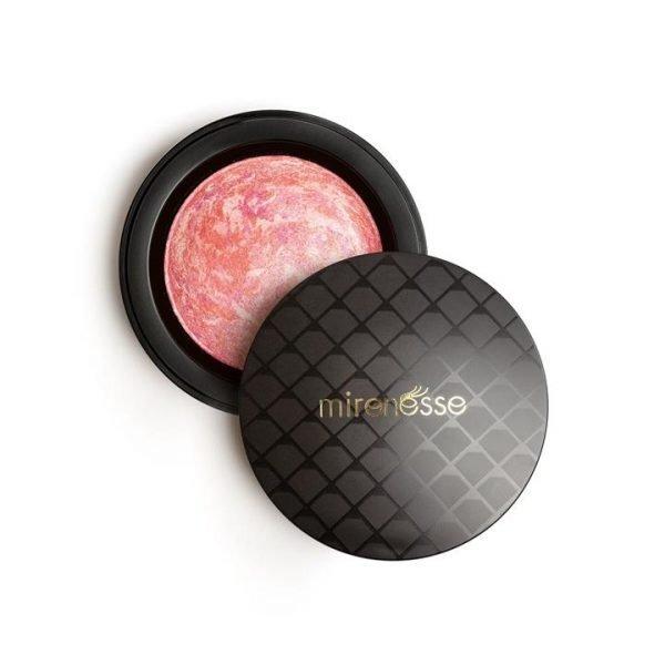 Mirenesse Marble Mineral Baked Powder Blush 5. Rose Diamond 12g
