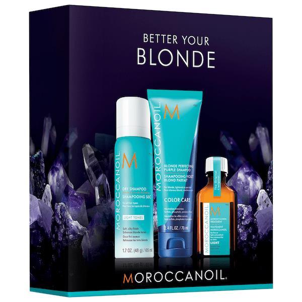 Moroccanoil Better Your Blonde Set
