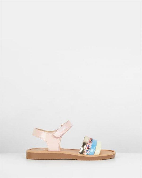Mult Strap Sandal G 453779 Yth Pink Multi