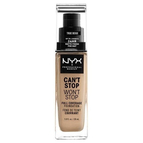 NYX Professional Makeup Can't Stop Won't Stop Full Coverage Liquid Foundation