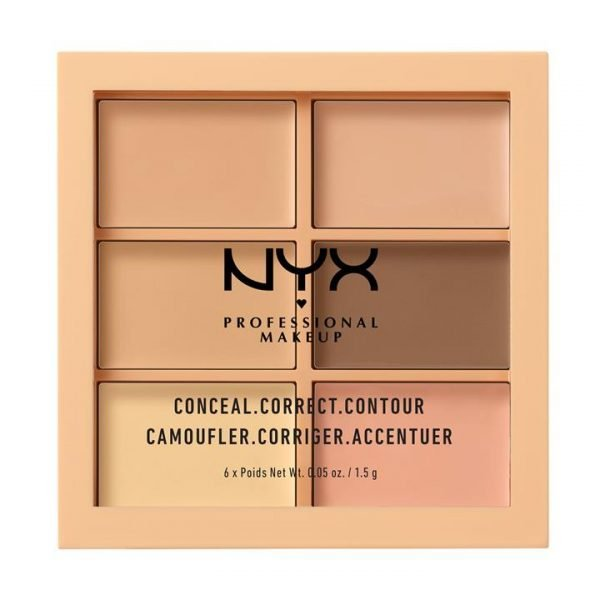 NYX Professional Makeup Conceal, Correct, Contour Palatte - Light