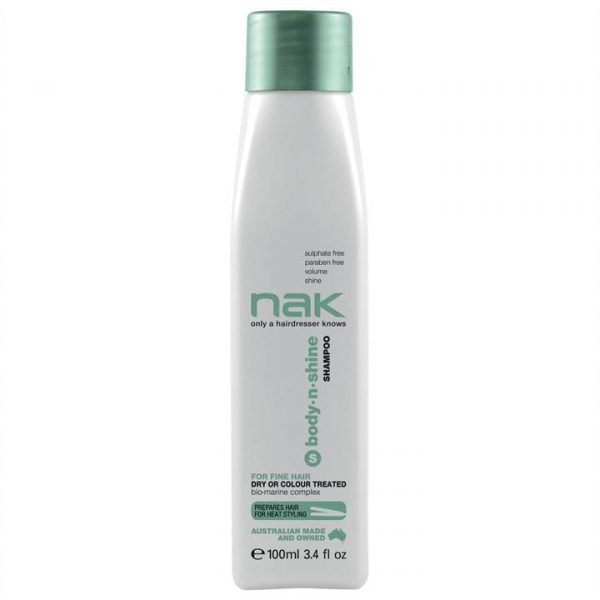 Nak Body.n.Shine Shampoo 100ml Travel Size