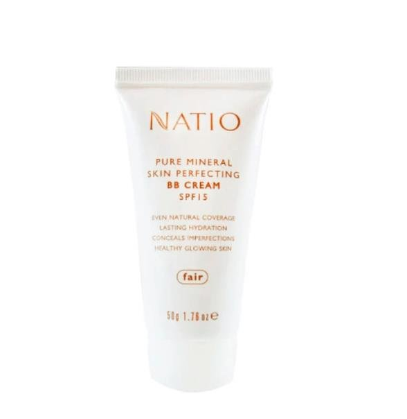 Natio SPF15 Pure Mineral Skin perfecting BB Cream 50g