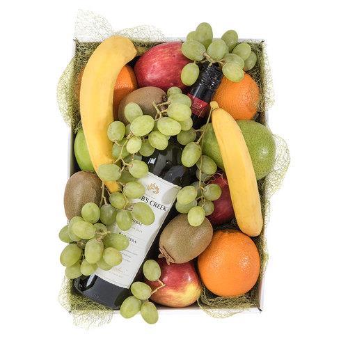 Nature's Bounty - Fruit and Wine Hamper
