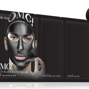 OMG Man In Black Peel Off Mask Kit