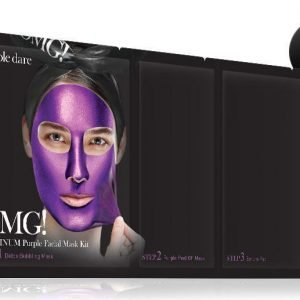OMG Platinum Purple Facial Mask Kit