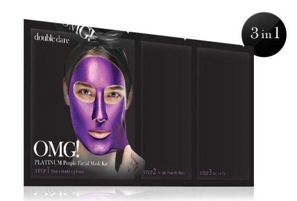 OMG Platinum Purple Facial Mask Kit