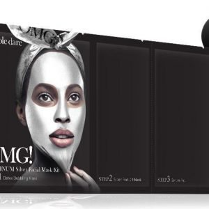OMG Platinum Silver Facial Mask Kit