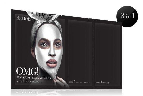 OMG Platinum Silver Facial Mask Kit