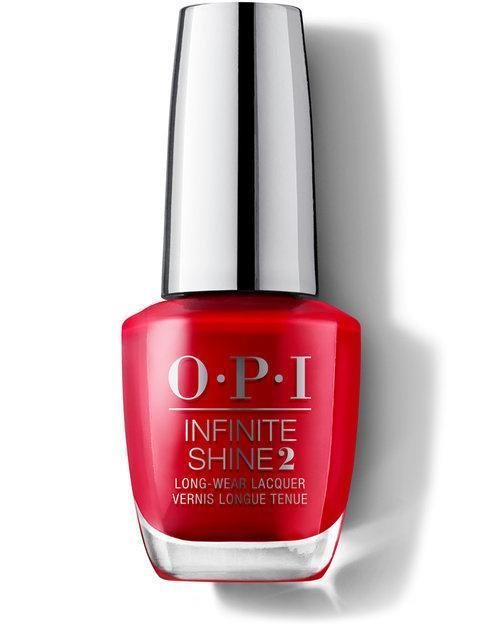 OPI Infinite Shine Nail Polish - Unequivocally Crimson 15ml