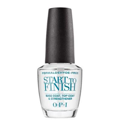 OPI Start to Finish Base and Top Coat - Formaldehyde Free 15ml