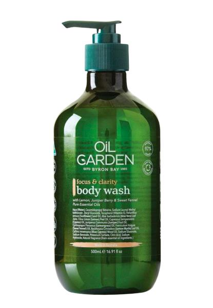 Oil Garden Body Wash Focus & Clarity 500ml