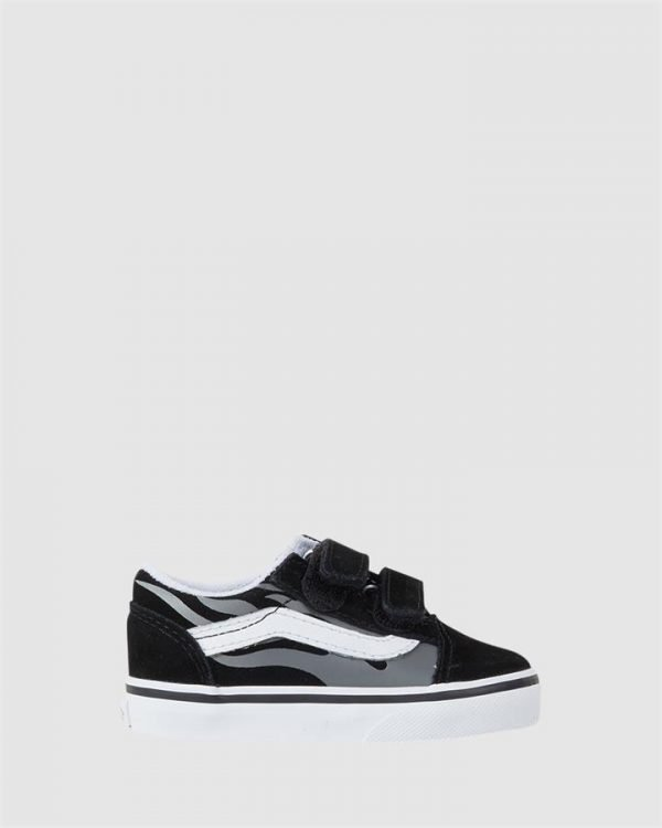 Old Skool V Flame Inf Black/Grey