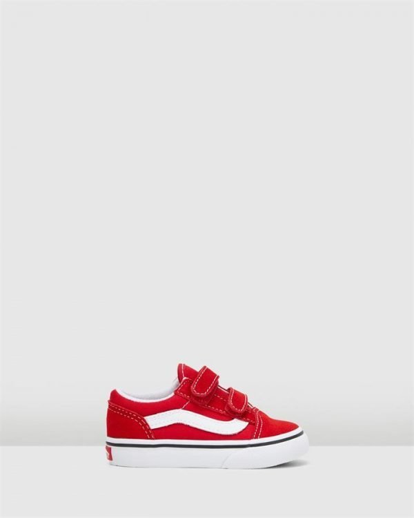 Old Skool V Inf B Red/White