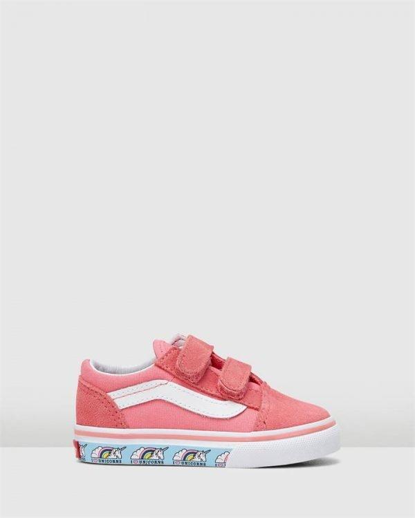 Old Skool V Unicorn Inf Pink/White