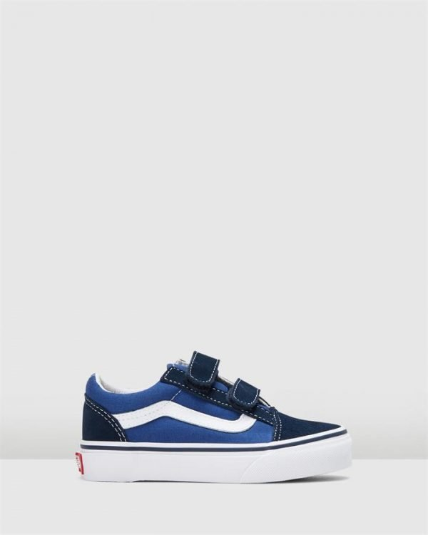 Old Skool V Yth B Blue/Navy/White