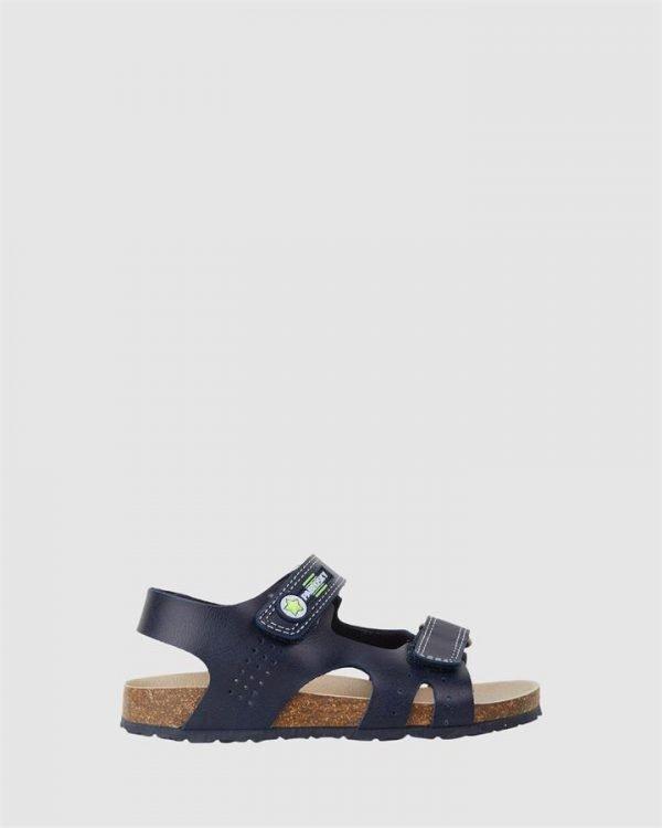 Open Sandal B 596820 Yth Navy/Lime