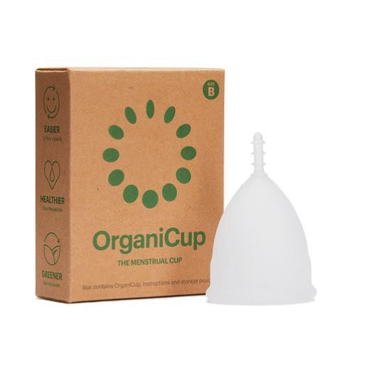OrganiCup Menstrual Cup - Size B