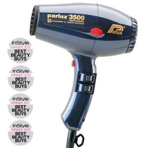 Parlux 3500 Super Compact Ceramic & Ionic Hair Dryer - Blue