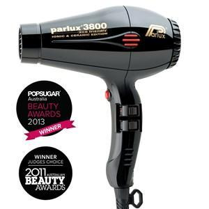 Parlux 3800 Ionic and Ceramic Hair Dryer - Black