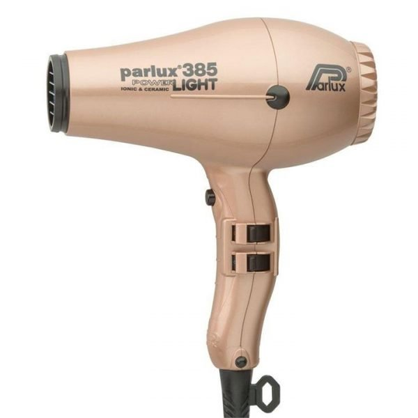 Parlux 385 Power Light Ceramic and Ionic Hair Dryer Light Gold