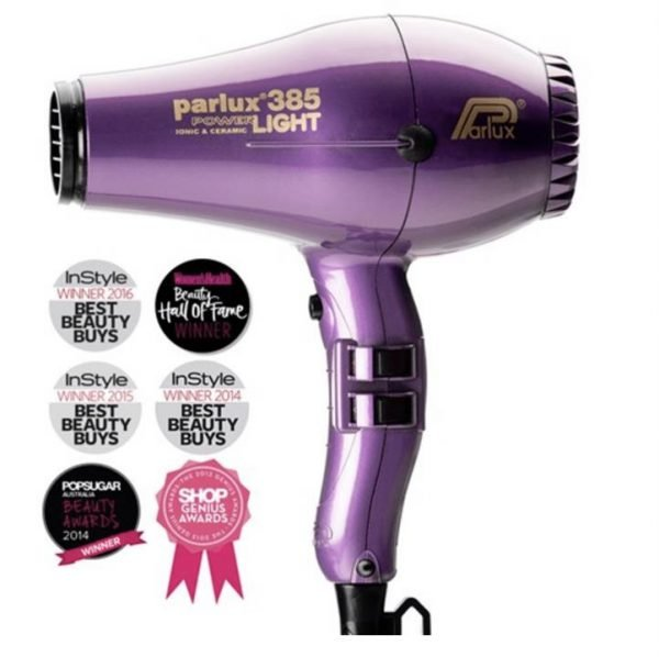 Parlux 385 Power Light Ceramic and Ionic Hair Dryer Violet