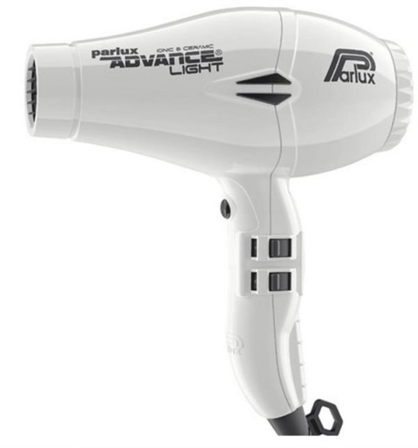Parlux Advance Light Ceramic and Ionic Hair Dryer - White