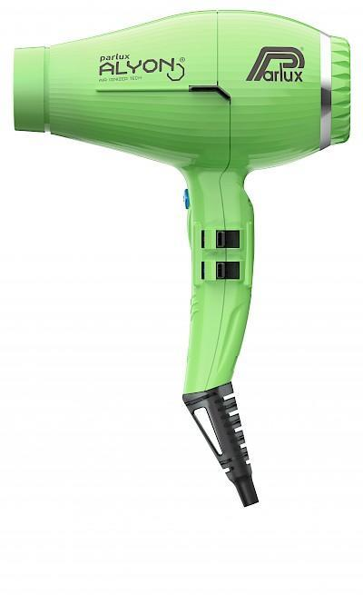Parlux Alyon Air Ionizer 2250 Tech Hair Dryer Green