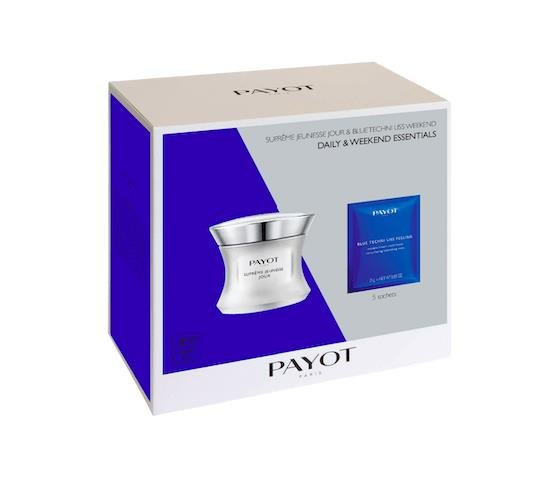 Payot Supreme Jeunesse Jour 50ml + 5 Blue Techni Liss Week-end Masks Duo Pack