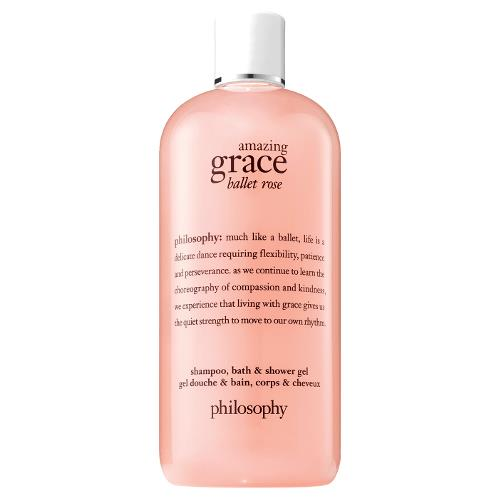 Philosophy Amazing Grace Ballet Rose Shampoo, Bath and Shower Gel 480ml