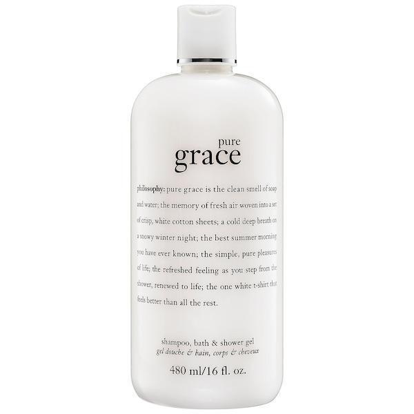 Philosophy Pure Grace Foaming Bath & Shower Cream 480ml