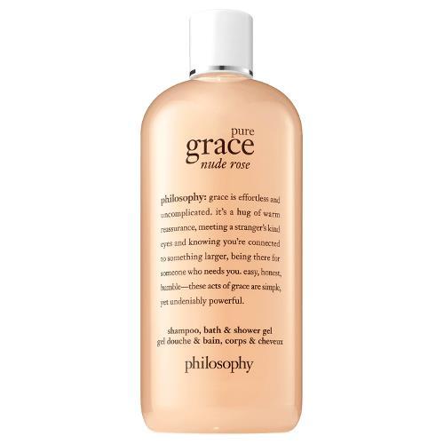 Philosophy Pure Grace Nude Rose Shampoo, Bath and Shower Gel 480ml
