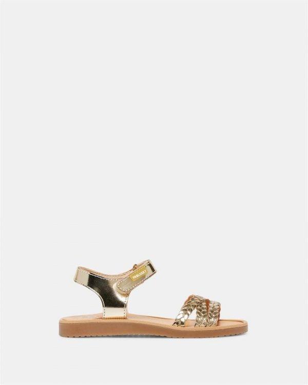 Plait Sandal G 4402 Yth Champagne