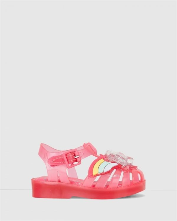 Possession Ii Rainbow Sandal Pink Translucent