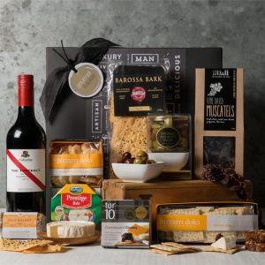 Premium Cheese & Wine Hamper