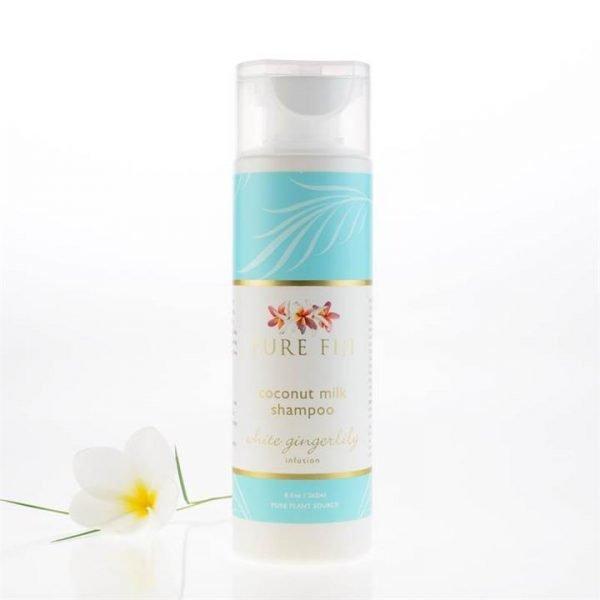 Pure Fiji Coconut Milk Shampoo - White Gingerlily Infusion 265ml