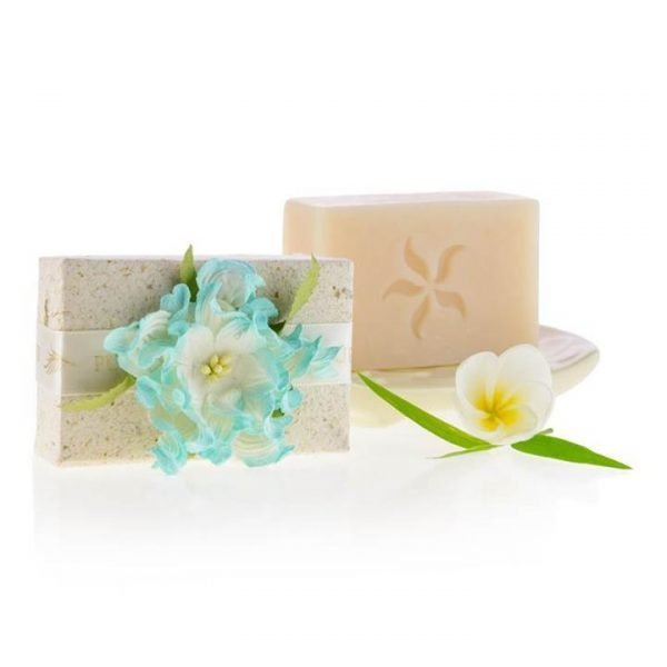 Pure Fiji Handmade Coconut Soap - White Gingerlily Infusion 100g